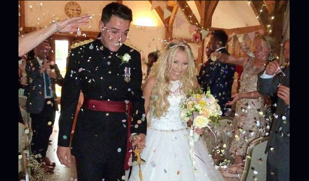 Army Captain Daniel Howard, jailed for raping Chief bridesmaid