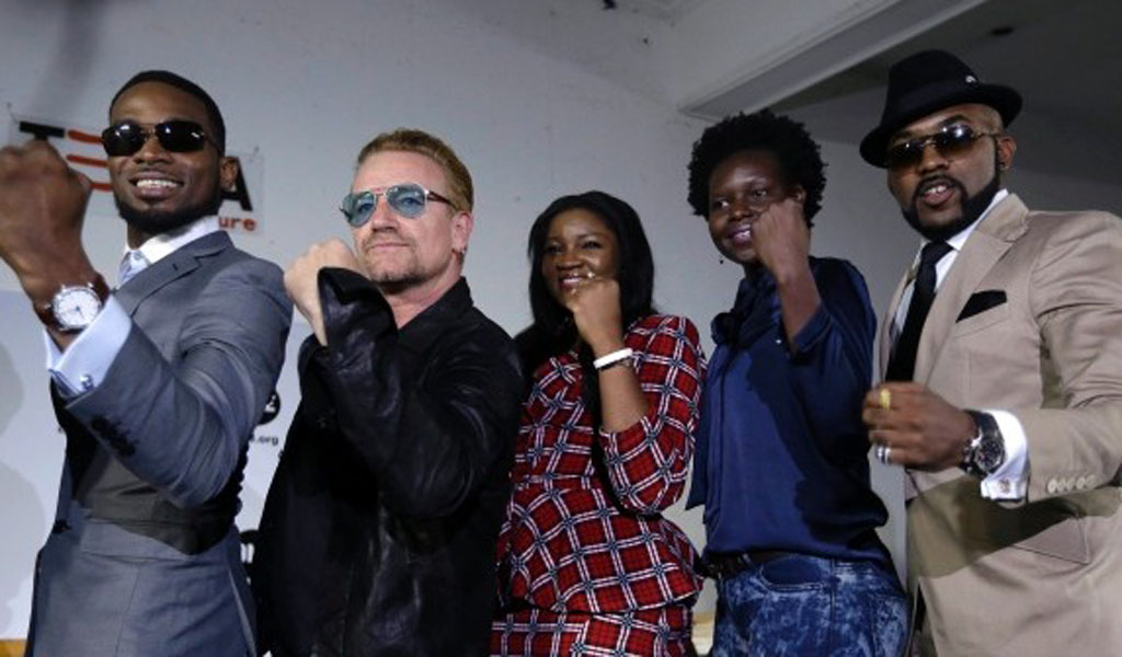 ONE brings Bono to Lagos for Strong Girl remix