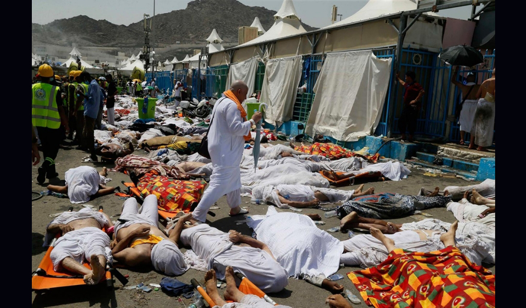 Saudi criticised after hajj stampede killed over 700