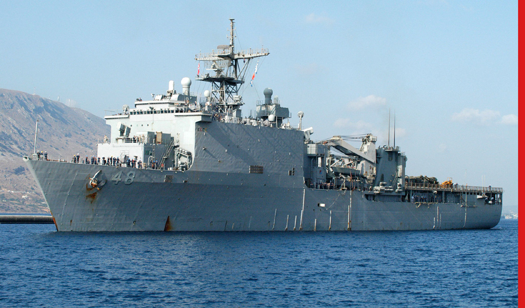 Navy receives new warship to combat oil theft, piracy