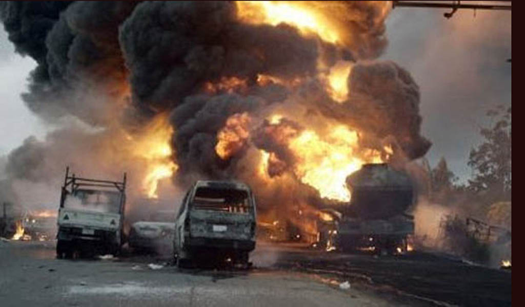 18 burnt to death in Ondo crash