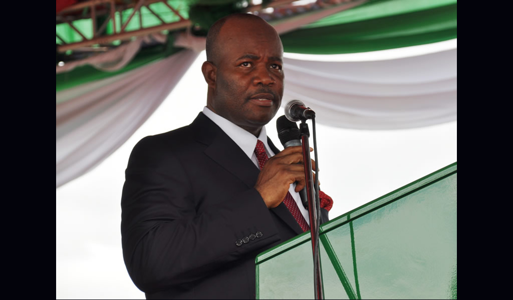 Alamieyeseigha: We've lost political colossus -Akpabio